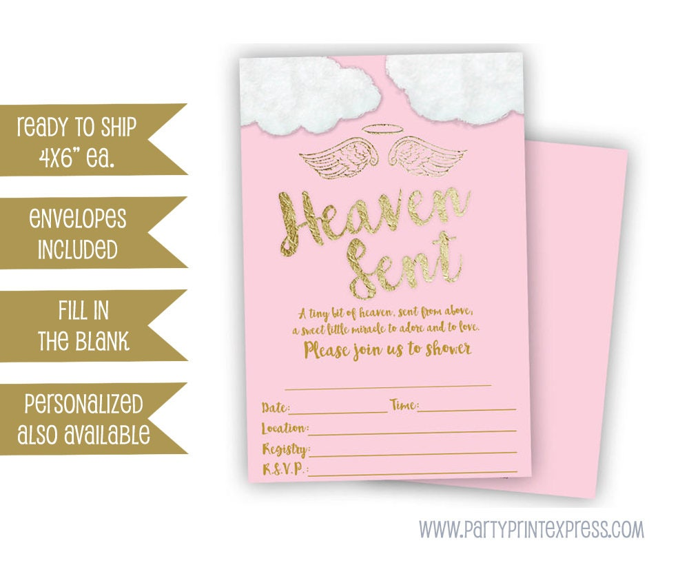 Fill In The Blank Baby Shower Invitations Part - 45: ?zoom