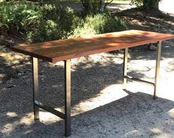 Reclaimed wood table. Industrial table. Old wood table. Confrence table. Reclaimed wood desk. Industrial desk. Rustic table. Outdoor table.