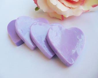 25 HEART SOAP, Heart soaps, Heart soap favors, Heart party, Heart birthday, Hear gift soaps, Heart valentine's day, Wedding heart soaps
