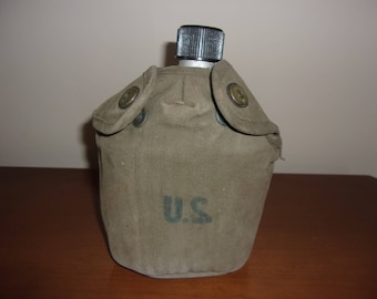 Vintage U S Military Canteen