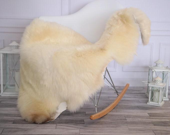 Sheepskin Rug | Real Sheepskin Rug | Shaggy Rug | Scandinavian Rug | Sheepskin Throw | Ivory Sheepskin | CHRISTMAS DECOR | #DECHER13
