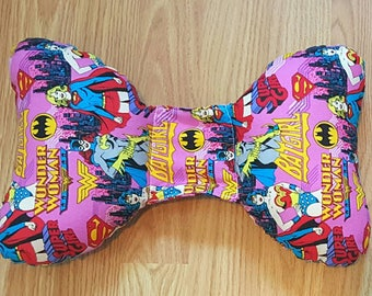 Wonder Woman Infant Head Support - Torticollis - Positional Plagiocephaly - Elephant Ear Pillow - Car Seat Head Support - Baby Shower Gift