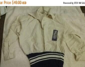 Sale!**Really cool 1950s rayon jacket loop collar