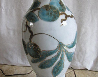 Camille Tharaud Limoges 3 Way Lamp FREE SHIPPING