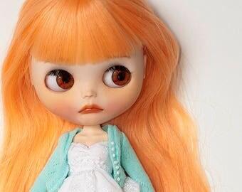 "Blythe custom doll #1 - ""Pumpkin"" OOAK- by momo"