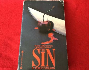 THE SIN (Paperback Novel by Robert Vaughan)