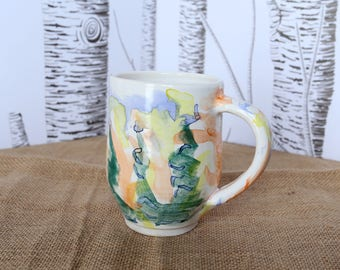 Rainbow Forest Mug - 14oz