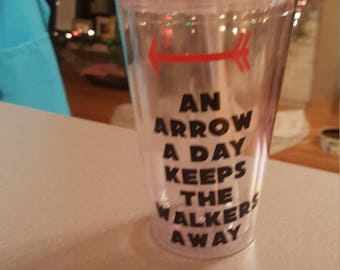 Arrow A Day Tumbler