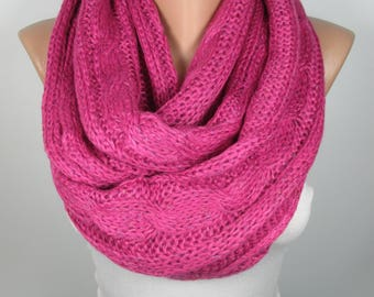 Infinity Scarf Fall Winter Fashion Scarf Circle Scarf Christmas Gifts For Her Loop Scarf Neck warmer Women Fashion Accessories