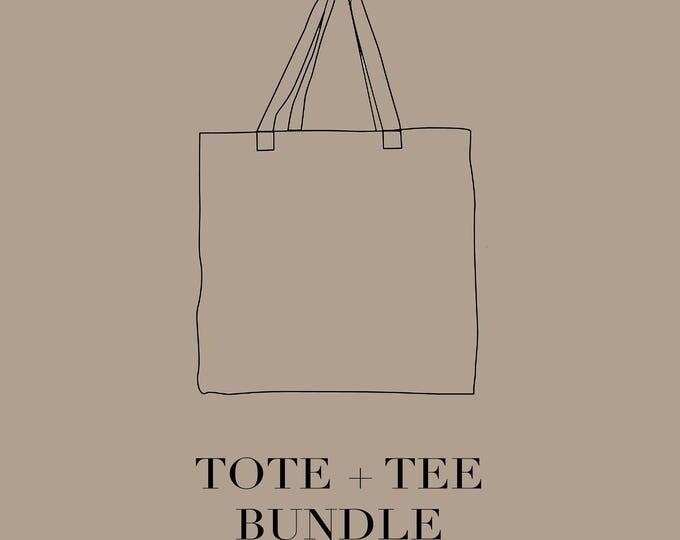 tote & tee bundle.