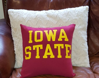 Iowa State Pillow Cover
