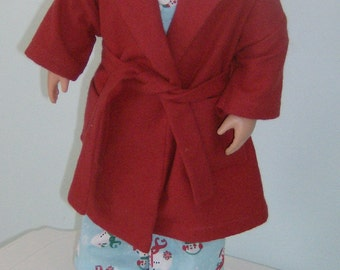 Free Shipping! 18 inch Boy Doll Sleep set, 4 pieces, made to fit American Girl Boy Doll like Logan