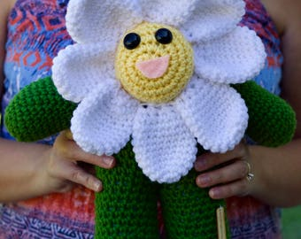Crochet Daisy Doll
