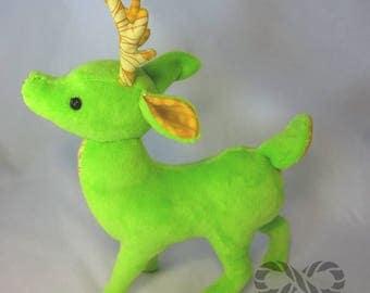 Summer Green Deer