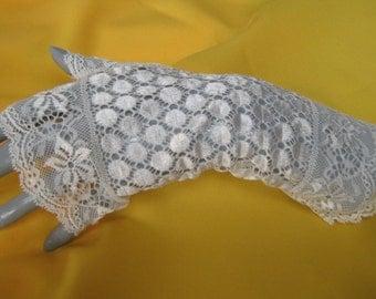 Lace Gloves wedding gloves ivory lace, Bridal long lace fingerless gloves, fingerless gloves long ivory wedding, lace fingerless gloves