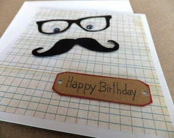 Mens vintage birthday card