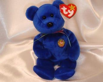 Clubby Beanie Baby, Ty Clubby Beanie Baby, Clubby Beanie Baby Bear