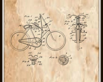 Bicycle Propulsion Patent #1,141,364 dated June 1, 1915.