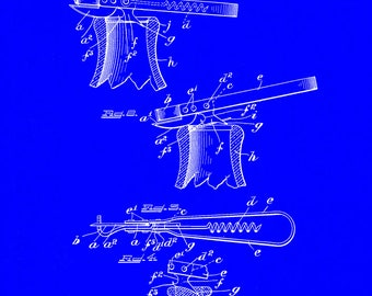 Combination Tool Patent #913191 dated Feb. 23, 1909.