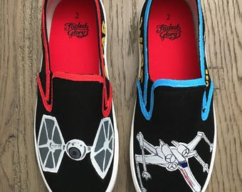 Star Wars Fighters Adult or Children's Shoes