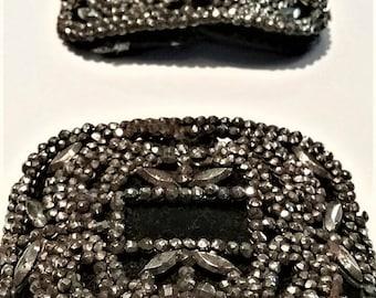 Edwardian Cut Steel Shoe Buckles