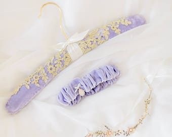 For Crystal and Lace Wedding Dress Hanger