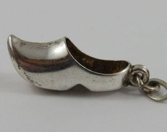 Dutch Clog Sterling Silver Vintage Charm For Bracelet