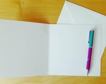 CARD ADD ON - Add your Own Handwritten Message!