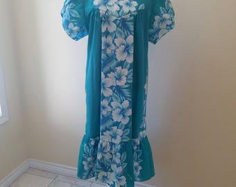 Hawaiian Dress Plus Size Dress Hawaii Muumuu Plus