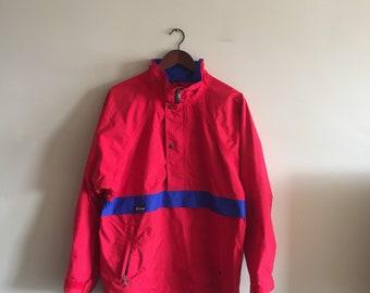Gore-Tex Jacket. Vintage Far West Jacket Snowboarding Jacket. 1980s Far West Jacket. Shell Jacket. Anorak Jacket.