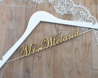 Custom Bridal Hanger, Personalized Wedding hanger, Bridal Hanger, Gift for Mother of Bride, Gift for Mother of Groom, Team Bride et0002