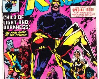Uncanny Xmen 136 comic. Dark Phoenix, X-men, Storm, Wolverine, Cyclops, Nightcrawler book. 1980 Marvel Comics in NM- (9.2)