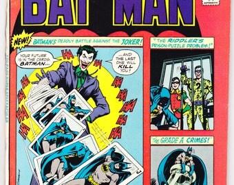 Batman 260, The Joker, Riddler, 2nd Arkham Asylum Comic Book, Robin, 100 Page Giant. 1975 DC Comics in VF+ (8.5)