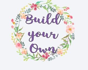 "Build your Own ""TotalTee Unique"" T-shirt/Tank/Raglan"