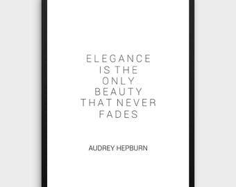 Audrey Hepburn Wall Art audrey hepburn wall art | etsy