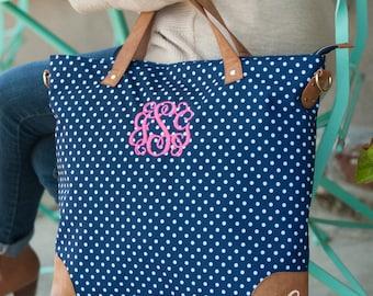 Charlie Dot Monogrammed Shoulder Bag - Charlie Dot Shoulder Bag - Monogrammed Shoulder Bag - Monogrammed Luggage - Monogrammed Travel Bag