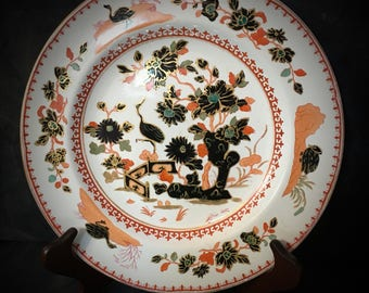 "A stunning 19th century ""Davenport"" cabinet plate"