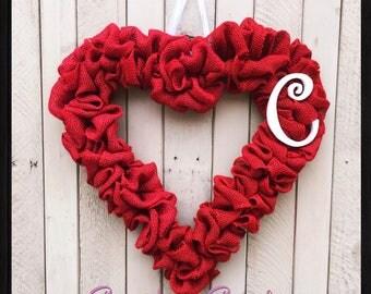 Valentines Heart Wreath I Red Heart Wreath I Mothers Day Wreath I Heart Wreath I Red Wreath I Valentines Gift I Mothers Day Gift