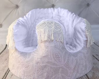 Bohemian Lace Bumbo Cover