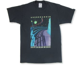 Soundgarden Superunknown 1994 Tour T Shirt