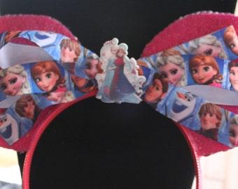 Frozen Mickey Mouse Ears