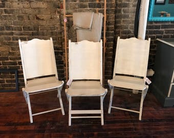 vintage wood white folding chairs white folding chairs 1940s church chairs