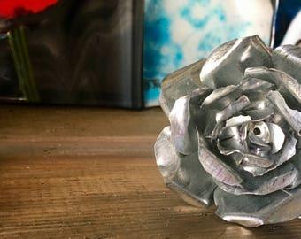 Handmade Tin Roses