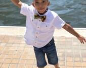 Kente African Bow Tie, Kwanzaa, Pre-tied Bow Tie, Orange Bow Tie, Boys Bow tie, Men's bow tie, Boys tie, Bowtie, Baby bow tie