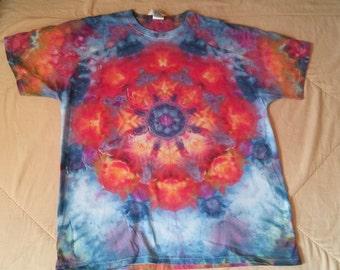 Mandala Tie Dye T-Shirt (X-Large)