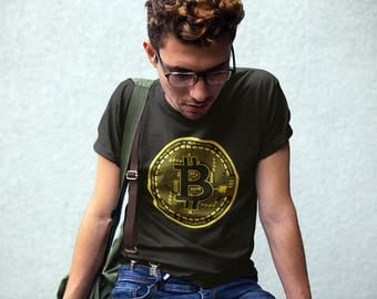 Bitcoin Circuit Design Manner Grafik Tee Kaufen
