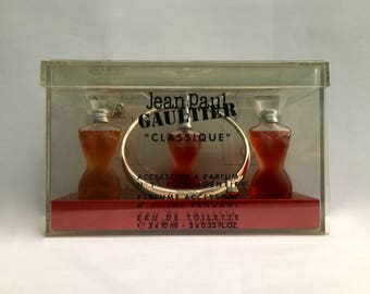 Jean Paul Gaultier Classique 3x 10ml EDT THE PENDANT