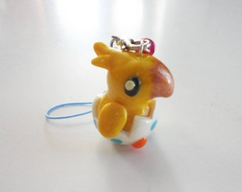 Final Fantasy Chocobo Polymer Clay Charm