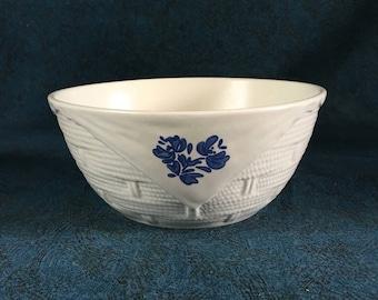 Vintage Pfaltzgraff Yorktowne Basketweave Bowl
