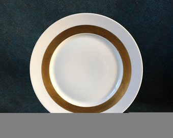 Vintage Limoges Ceralene Anneau D'Or Dinner Plate